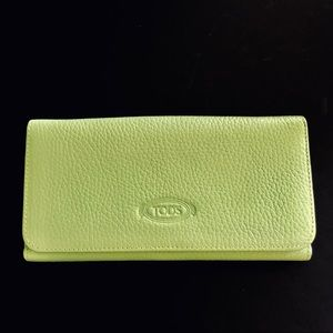 Like New TOD'S Full Size Double Sided Wallet